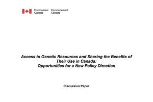 abs canada access to genetic resources and sharing the benefits
